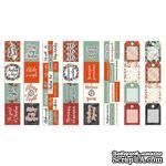Набор полос с картинками для декорирования The spirit of Christmas, ТМ Фабрика Декора - ScrapUA.com