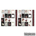 Набор полос с картинками для декорирования Peony passion 5 шт 5х30,5 см, ТМ Фабрика Декора - ScrapUA.com