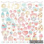 Лист для вырезания Sweet baby girl, ТМ Фабрика Декору - ScrapUA.com