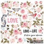Лист для вырезания Sensual Love, ТМ Фабрика Декору - ScrapUA.com