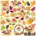 Лист с картинками для вырезания Autumn, ТМ Фабрика Декору - ScrapUA.com