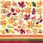 Лист с картинками для вырезания Autumn - UKR, ТМ Фабрика Декору - ScrapUA.com