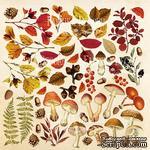 Лист для вырезания Botany autumn, ТМ Фабрика Декору - ScrapUA.com