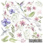 Лист для вырезания Wild orchid, ТМ Фабрика Декору - ScrapUA.com