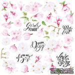 Лист с картинками для вырезания Magnolia in bloom, ТМ Фабрика Декору - ScrapUA.com