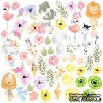 Лист с картинками для вырезания Summer holiday, ТМ Фабрика Декору - ScrapUA.com