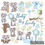 Лист с картинками для вырезания Puffy Fluffy Boy, ТМ Фабрика Декору - ScrapUA.com