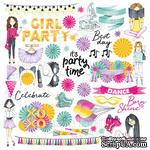 Лист для вырезания Party Girl, ТМ Фабрика Декору - ScrapUA.com