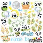 Лист с картинками для вырезания. Набор My little panda boy, ТМ Фабрика Декору - ScrapUA.com