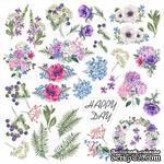 Лист с картинками для вырезания Night garden, ТМ Фабрика Декора - ScrapUA.com