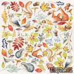 Лист с картинками для вырезания Colors of Autumn, ТМ Фабрика Декора - ScrapUA.com