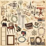 Лист с картинками для вырезания Family Heritage 30,5х30,5 см, ТМ Фабрика Декора - ScrapUA.com