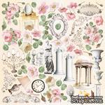 Лист с картинками для вырезания Nostalgia 30,5х30,5 см, ТМ Фабрика Декора - ScrapUA.com