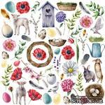 Лист с картинками для вырезания Easter 1, ТМ Фабрика Декора - ScrapUA.com