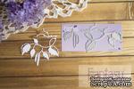 """Нож для вырубки Fantasy """"Ветка березы"""", 7.7 *4 см; 2.8* 4 см; 4.2*1 см - ScrapUA.com"""
