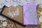 Ножи для вырубки Fantasy рамка «Куст шиповника» размер 11.3*7.3 см - ScrapUA.com