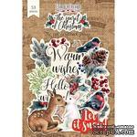 Набор высечек, коллекция The spirit of Christmas, 53 шт., ТМ Фабрика Декора - ScrapUA.com