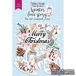 Набор высечек, коллекция Winter love story, 61 шт., ТМ Фабрика Декора - ScrapUA.com
