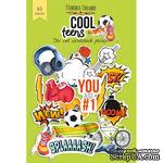 Набор высечек, коллекция Cool Teens, 65шт, ТМ Фабрика Декору - ScrapUA.com
