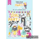 Набор высечек, коллекция Party girl, 61шт, ТМ Фабрика Декору - ScrapUA.com