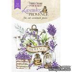 Набор высечек, коллекция Lavender provence, 54шт, ТМ Фабрика Декору - ScrapUA.com
