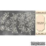 Набор чипбордов Ажурные розы 551, 10х15 см, цвет молочный, ТМ Фабрика Декора - ScrapUA.com