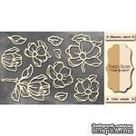 Чипборд Фабрика Декору - Magnolia sky 1, цвет молочный, крафт - ScrapUA.com