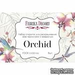 Набор открыток для раскрашивания аква чернилами Orchid, ТМ Фабрика Декора - ScrapUA.com