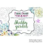 Набор открыток для раскрашивания маркерами Shabby garden, ТМ Фабрика Декора - ScrapUA.com