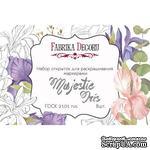 Набор открыток для раскрашивания маркерами Majestic Iris, ТМ Фабрика Декора - ScrapUA.com