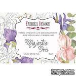 Набор открыток для раскрашивания аква чернилами Majestic Iris, ТМ Фабрика Декора - ScrapUA.com