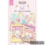 Высечки, коллекция Sweet baby girl, 49 штук, ТМ Фабрика Декора - ScrapUA.com