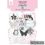 Набор высечек, коллекция Scandi Baby Girl, ТМ Фабрика Декору - ScrapUA.com