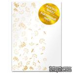 Ацетатный лист с фольгированием Golden Dill A4 21х30 см, ТМ Фабрика Декора - ScrapUA.com