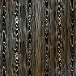 Лист односторонней бумаги с фольгированием Golden Wood Texture Black,ТМ Фабрика Декора - ScrapUA.com