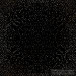 Лист односторонней бумаги с фольгированием Golden Mini Drops Black, ТМ Фабрика Декора - ScrapUA.com