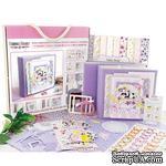 Набор для создания детского фотоальбома Baby girl #002, ТМ Фабрика Декора - ScrapUA.com