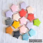 Набор картонных заготовок 002, ТМ Fabrika Dekoru, 6 штук, 70 мм, выбор цвета - ScrapUA.com