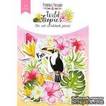 Набор высечек Wild Tropics, 54шт, ТМ Фабрика Декора - ScrapUA.com