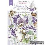 Набор высечек коллекция Journey to Provence 54 шт, ТМ Фабрика Декора - ScrapUA.com