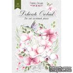 Набор высечек, коллекция Delicate Orchid, 49 шт., ТМ Фабрика Декора - ScrapUA.com