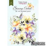 Набор высечек, коллекция Sunny Orchid, 49 шт., ТМ Фабрика Декора - ScrapUA.com