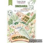 Набор высечек коллекция Dinosauria 61 шт, ТМ Фабрика Декора - ScrapUA.com
