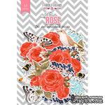 Набор высечек, коллекция Red Rose, 57 шт., ТМ Фабрика Декора - ScrapUA.com