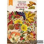 Набор высечек коллекция Autumn botanical diary 63 шт, ТМ Фабрика Декора. - ScrapUA.com