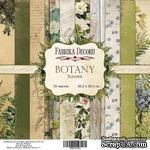 Набор бумаги 30,5х30,5 Botany summer, ТМ Фабрика Декору - ScrapUA.com