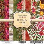 Набор бумаги 30,5х30,5 Botany winter, ТМ Фабрика Декору - ScrapUA.com
