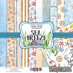 Набор скрапбумаги Sea Breeze, 30,5x30,5см, Фабрика Декора - ScrapUA.com