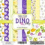 Набор скрапбумаги - Dino baby, 30x30 см, Фабрика Декора - ScrapUA.com