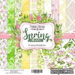 Набор скрапбумаги - Spring blossom, 30,5x30,5 см, ТМ Фабрика Декора - ScrapUA.com